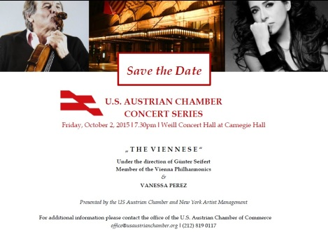 Save the Date Oct. 2, 2015 USACC Concert Series